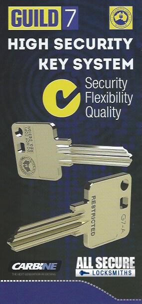 Guild 7 Restricted Key System